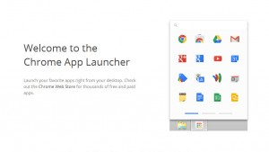 Chrome App Launcher released for Windows