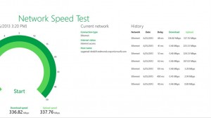 Microsoft's Network Speed Test app released for Windows 8