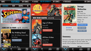 Apps to help you find and read comic books