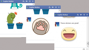 Stickers finally come to Facebook on the web