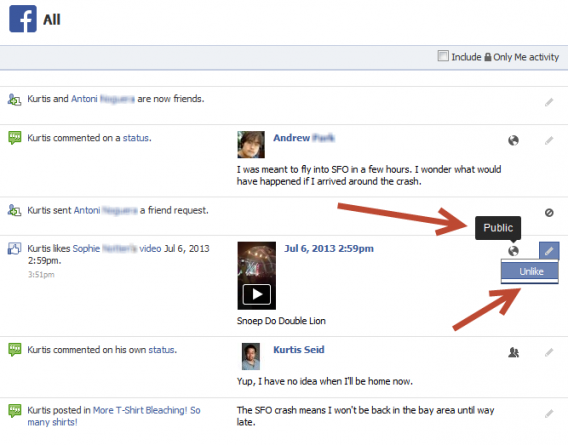 How to guard against unwanted Facebook Graph Searches