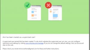 Parental controls coming to Google Chrome