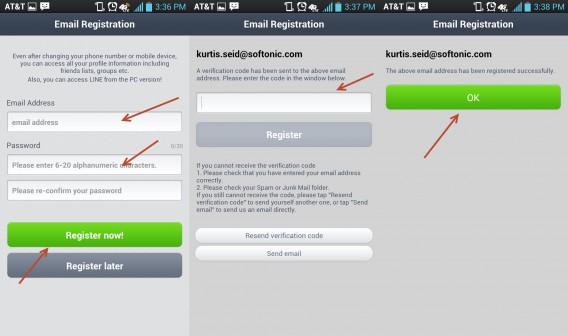 email register