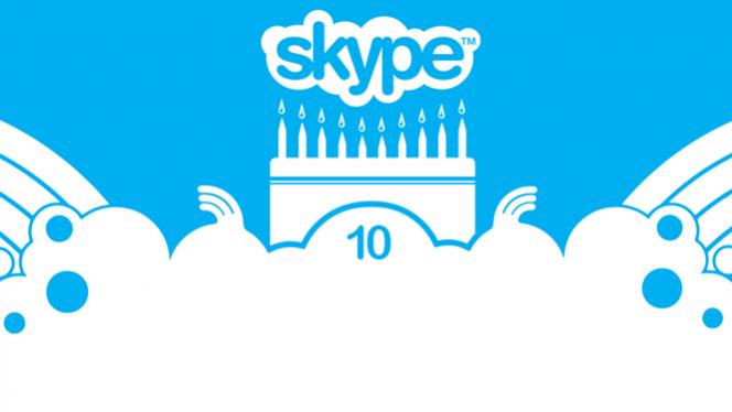 Skype 10th Anniversary: a history