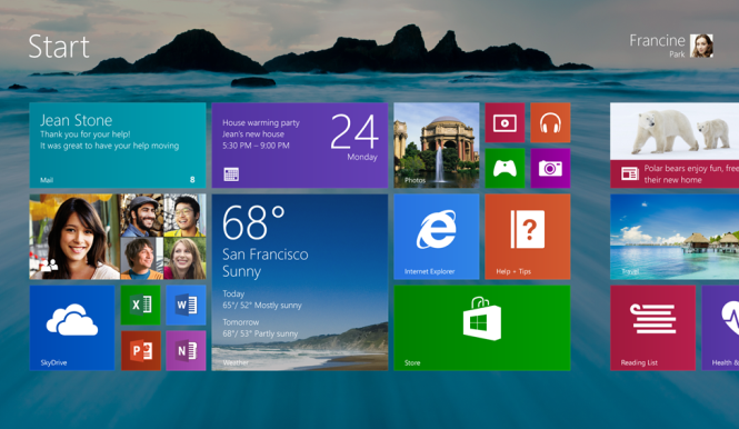 More details about Windows 8.1 update