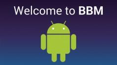 BlackBerry Messenger for Android leaked
