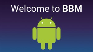 BlackBerry Messenger for Android leaked