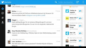 Twitter for Android tablet app leaked