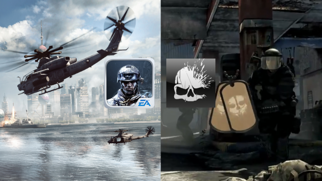 Battlefield Battlelog vs Call of Duty Elite: which is the better connected app?