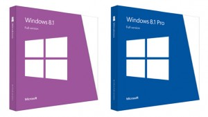 Windows 8.1 box copies available for pre-order for $119, $199