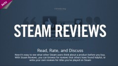 Steam Reviews beta begins, lets users rate games and software