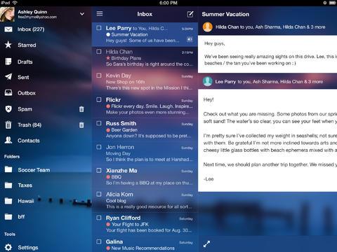 Yahoo Mail for iPad