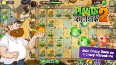 New version of Plants vs. Zombies 2 for Android