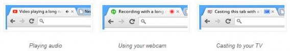 Chrome 32 tab status