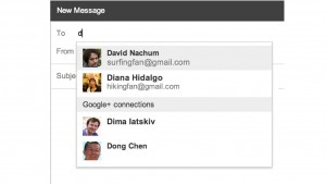 Gmail integrates Google+