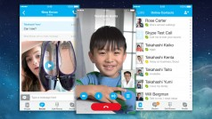 Skype for iOS updated with push notifications, HD video calls