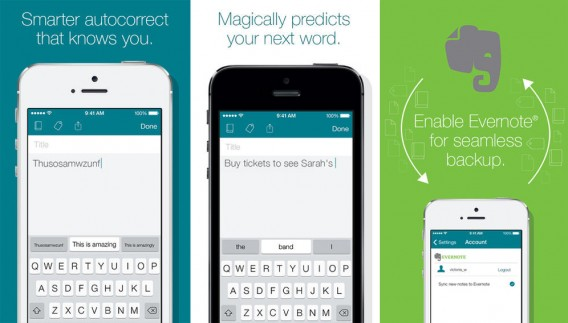 SwiftKey Note for iOS combined