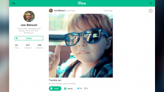 "Vine web profiles arrive with ""TV Mode"""