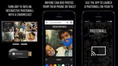 Photowall Chromecast app lets you share photos on your TV