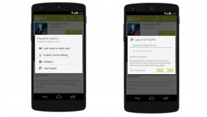 PayPal now accepted in Google Play on Android