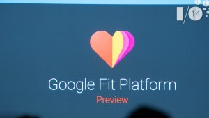 Google I/O 2014: Google Fit, a platform for tracking health and fitness