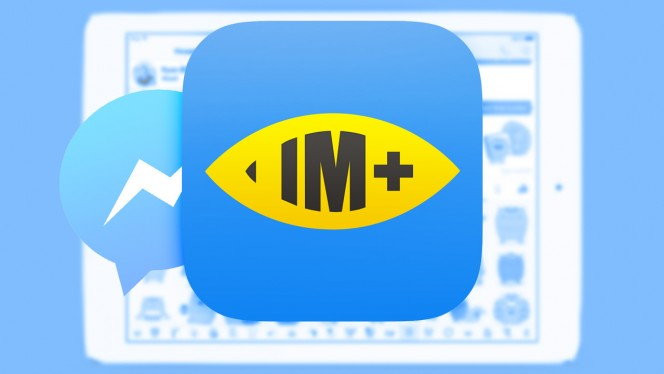 Use IM+ as an alternative to Facebook's Messenger app