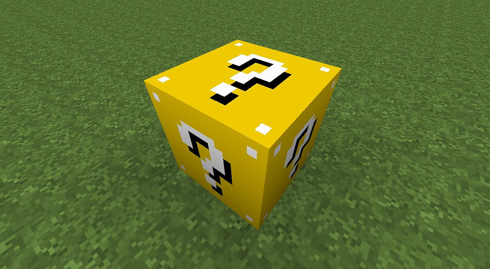 Install Minecraft mods - Lucky Block