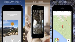 Create 360º images with Google's Photo Sphere Camera app for iPhone
