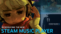 Now you can control your music in-game with Steam