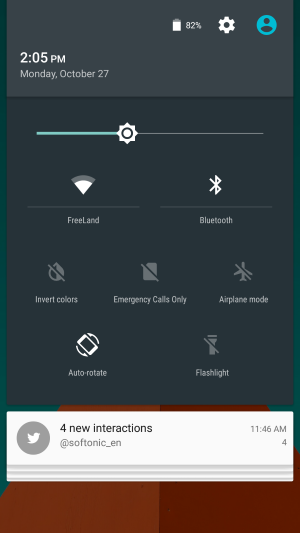 android 5.0 lollipop quick settings