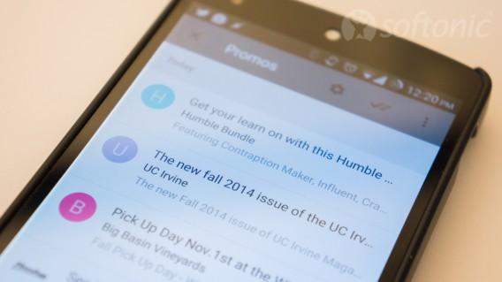 Google Inbox promo mail