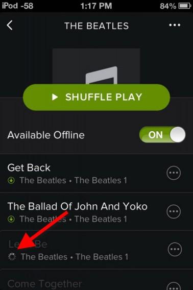 Spotify offline download
