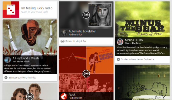 google play music all access suggestions