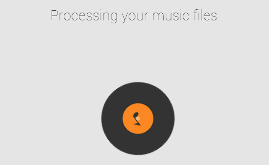 google play music processing music