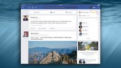 Facebook for iPad now works like the website