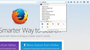 Download the Firefox 34 update, featuring a new search bar and built-in video chat