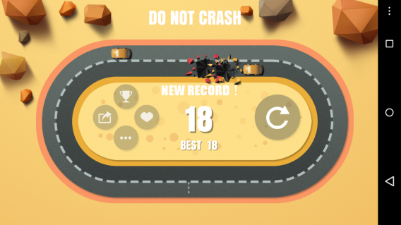 do not crash android