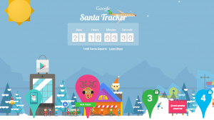 Santa Trackers – Google and Microsoft go head to head