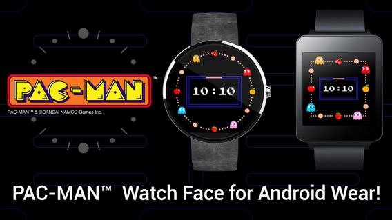 pac-man android wear