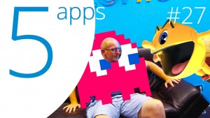 Pac-man 256 and Mozilla Webmaker top our recommended app list