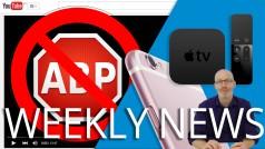 Adblock, Apple, and EA news
