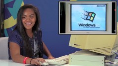 How do teenagers in 2016 react to Windows 95?