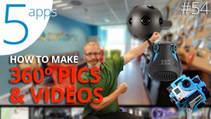 Five apps to create VR video and images