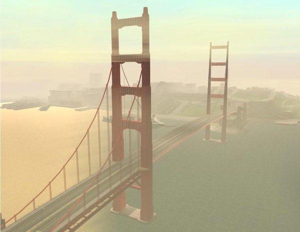 GTA - San Andreas - Gant Bridge
