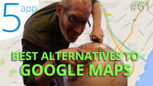 Top alternatives to Google Maps