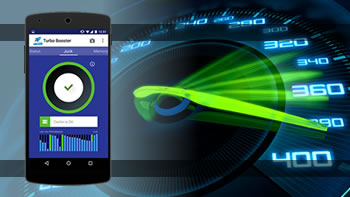Turbo Booster, optimize, clean and speed up your Android.