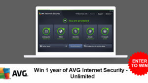Win a free year of AVG Internet Security – Unlimited