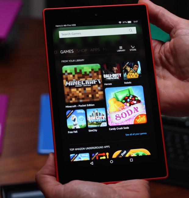 6 Terrific Smartphone Operating Systems that are Not Android - Amazon OS