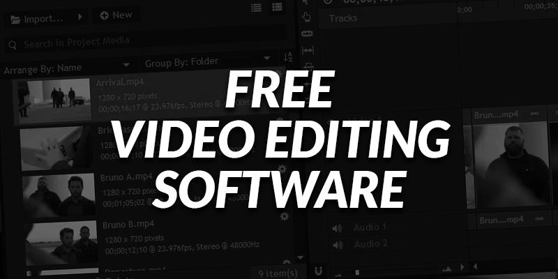 5 Free Programs for Editing Videos