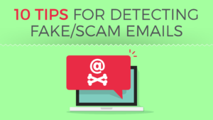 (Hi-Res Version) How to Detect Fake/Scam Emails and Avoid Phishing Attacks